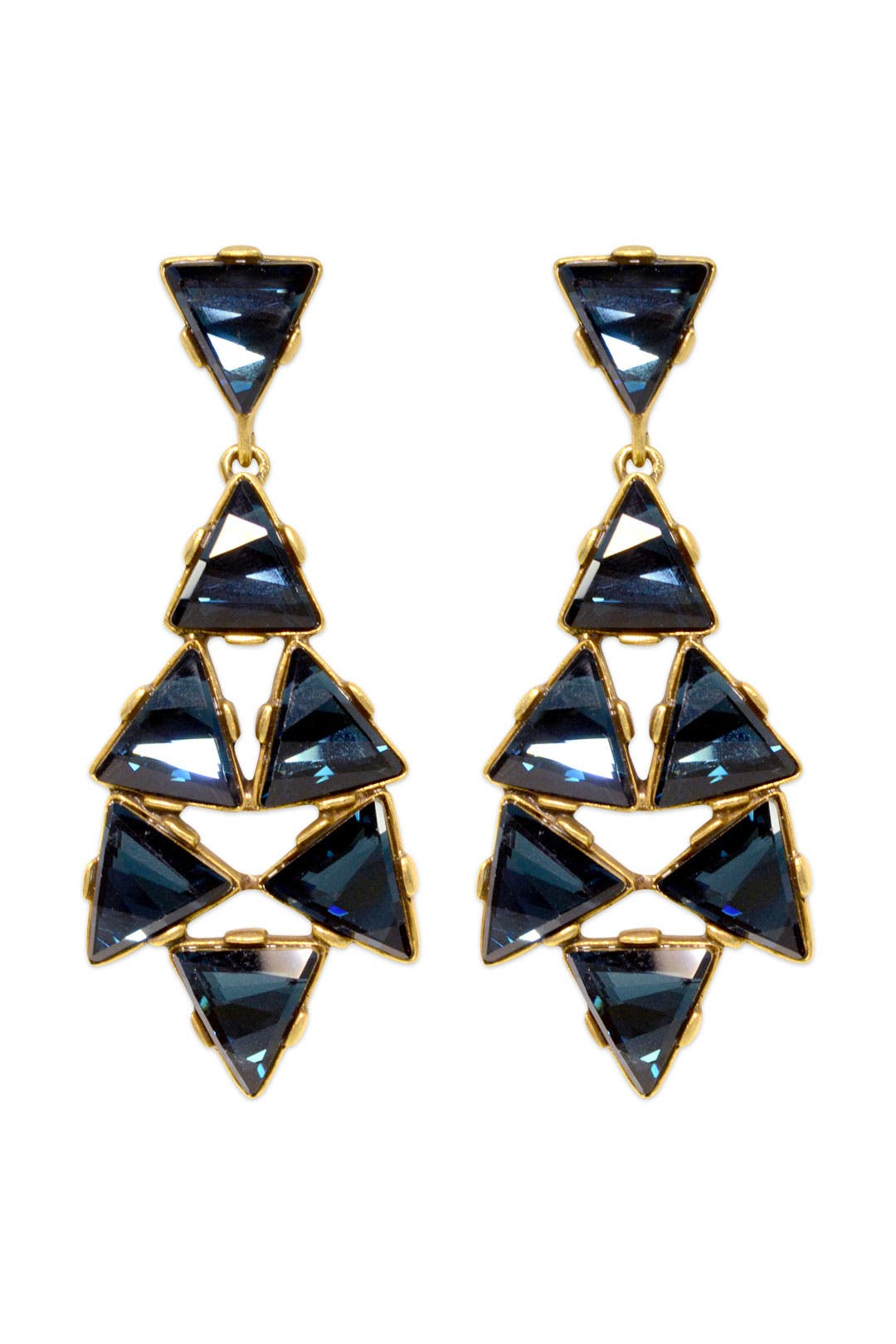 Into the Night Earrings by Oscar de la Renta