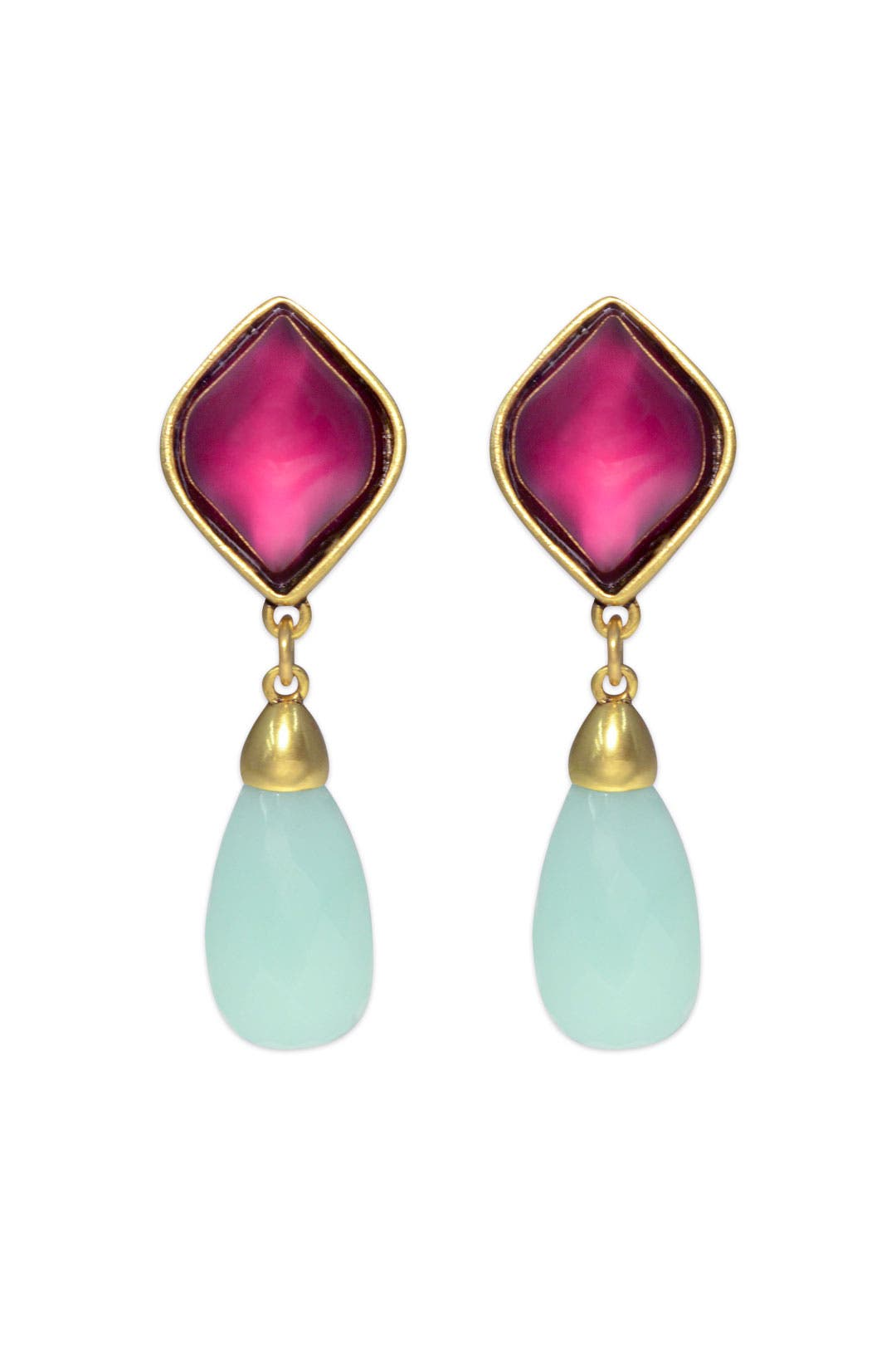 Music Box Drop Earrings by Oscar de la Renta