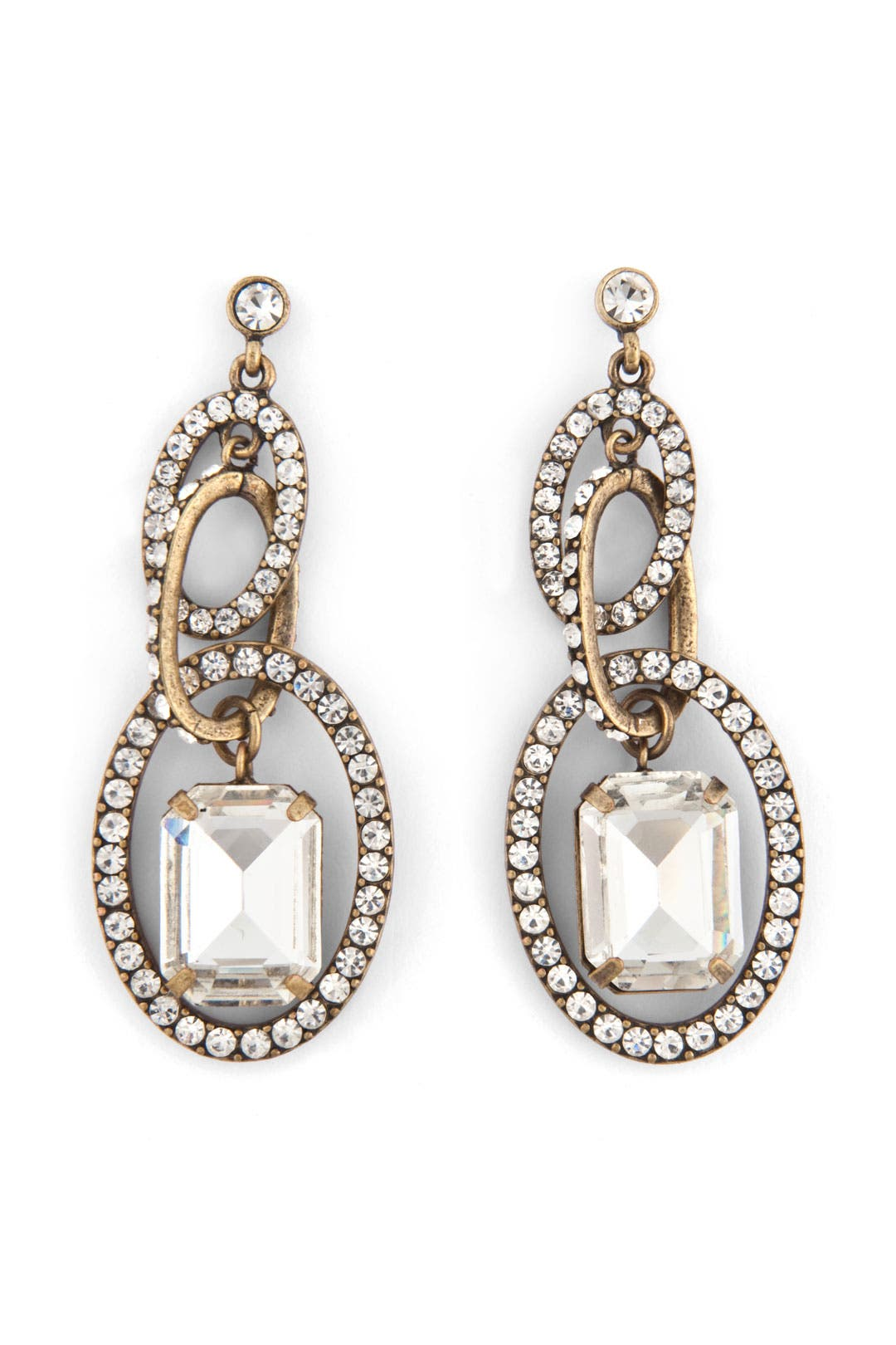 Crystal Hoopla Earrings by RJ Graziano