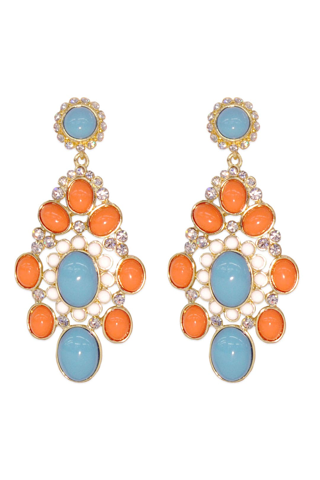 Venetian Drop Earring by RJ Graziano