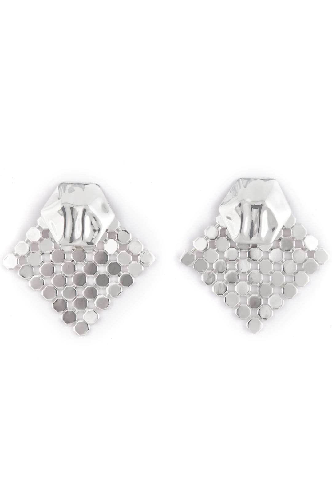 Diamond Disco Earrings by Tuleste Market