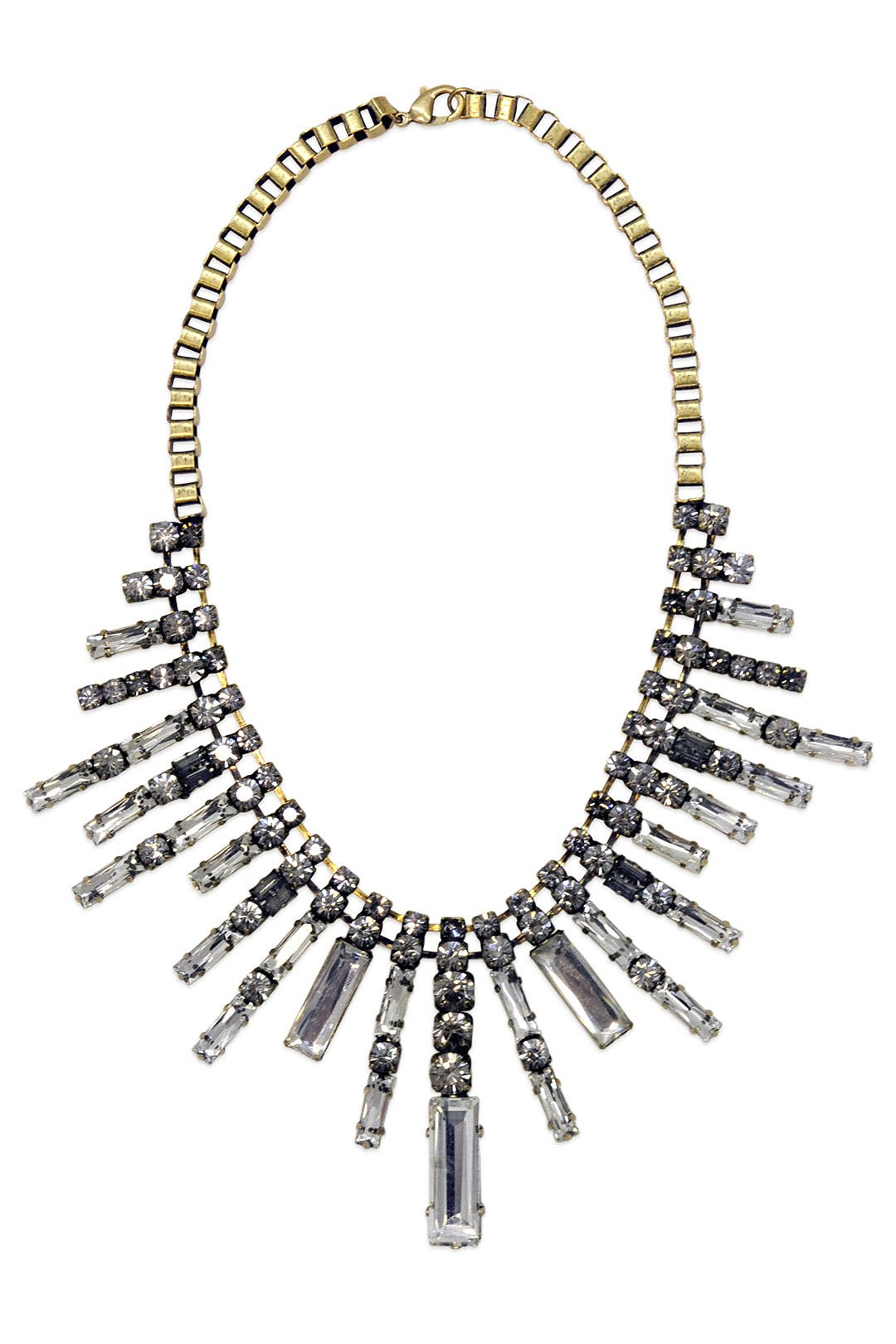 Crystal Skyline Necklace by Adia Kibur