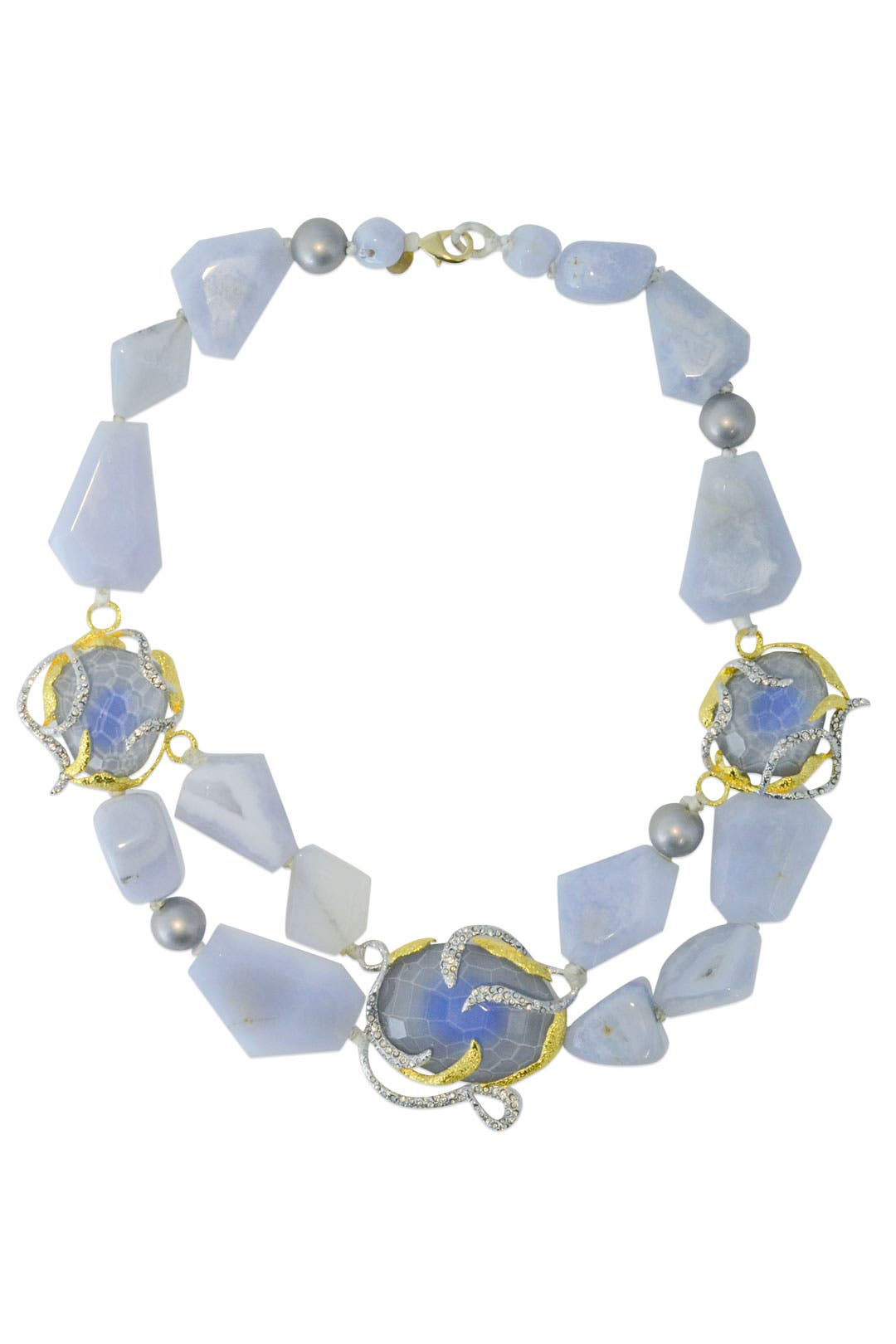 Azure Vine Necklace by Alexis Bittar