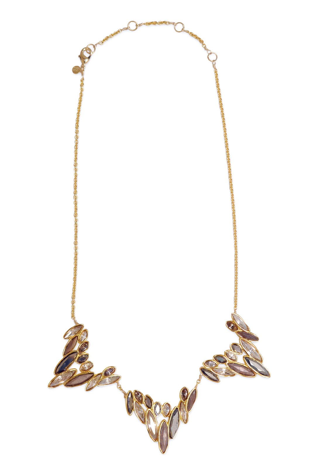 Triple Mosaic Necklace by Alexis Bittar