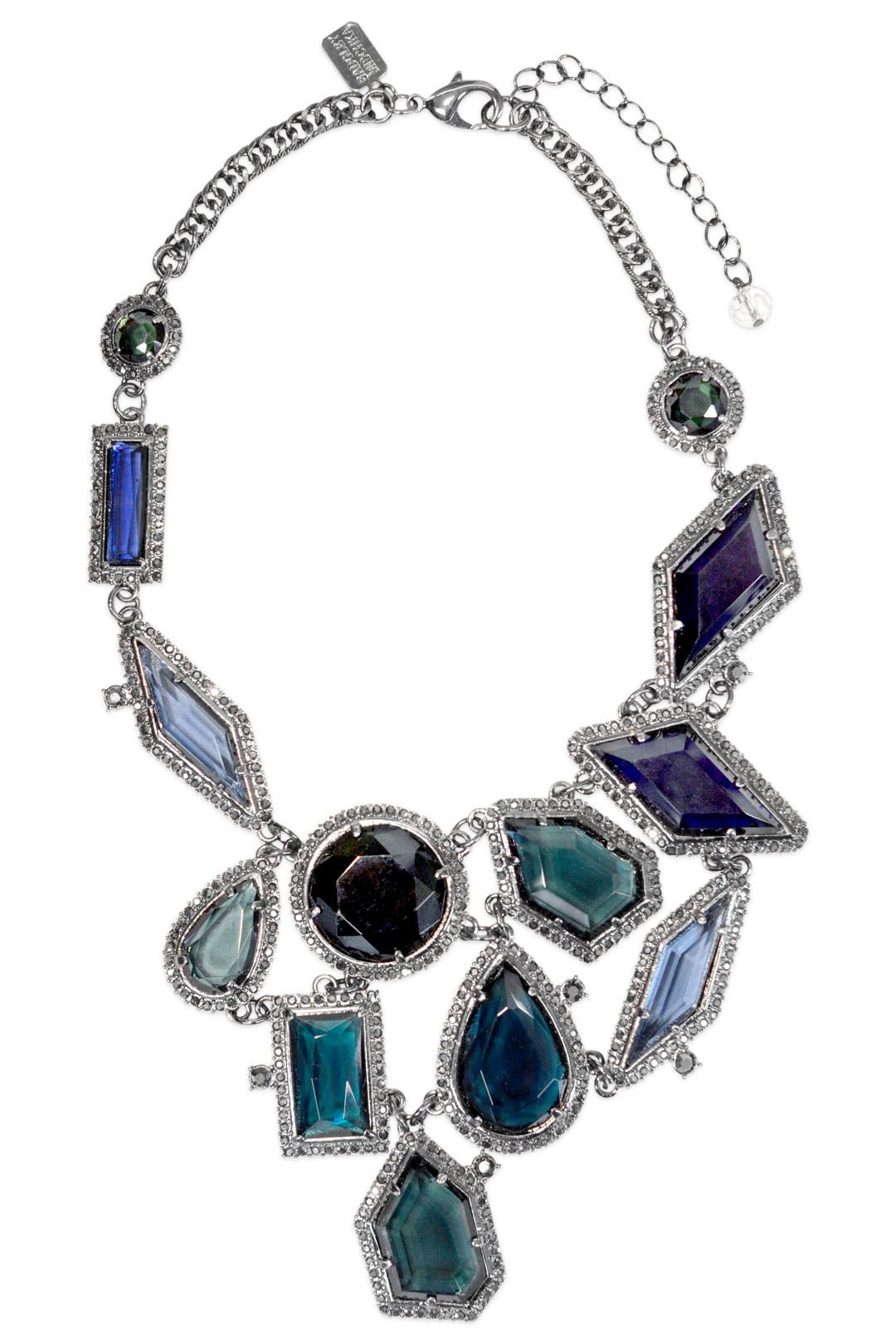 Blue Ice Crystal Bib by Badgley Mischka Jewelry
