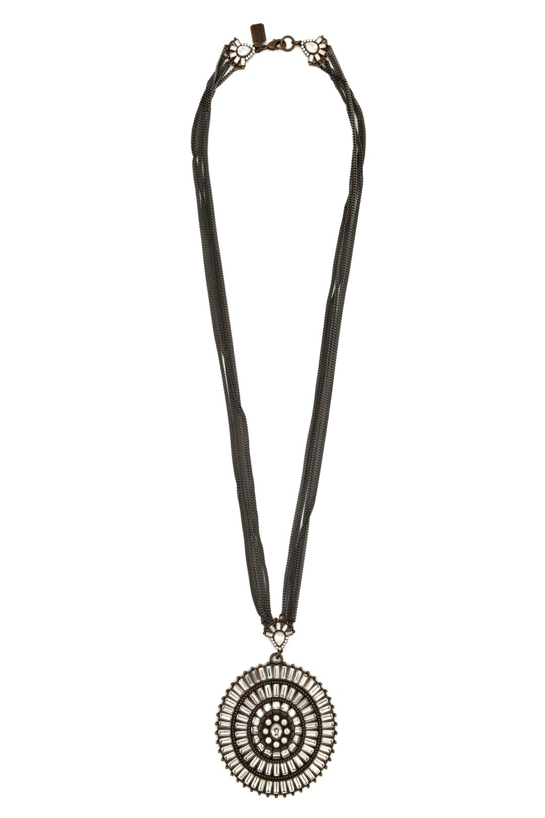 Art Deco Bling Pendant by Badgley Mischka Jewelry