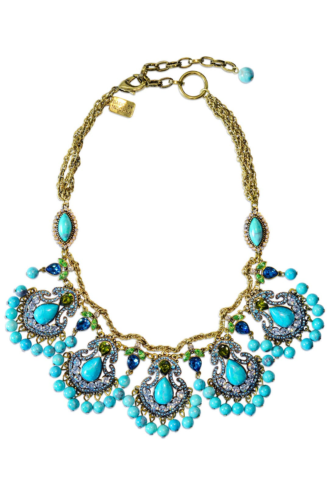 Entrancing Blue Necklace by Badgley Mischka Jewelry