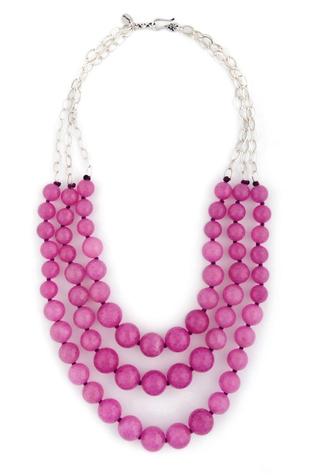 Pink Jade Necklace by Chan Luu