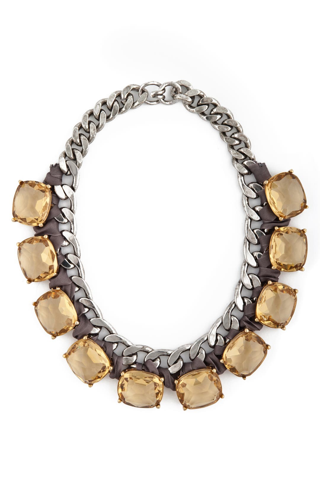 Champagne and Chains Necklace by Ciner