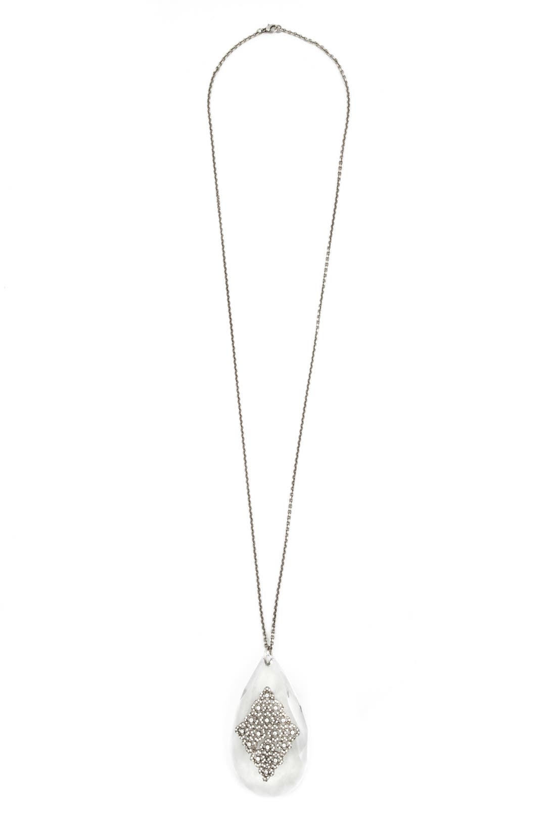Oversized Teardrop Necklace by Ciner