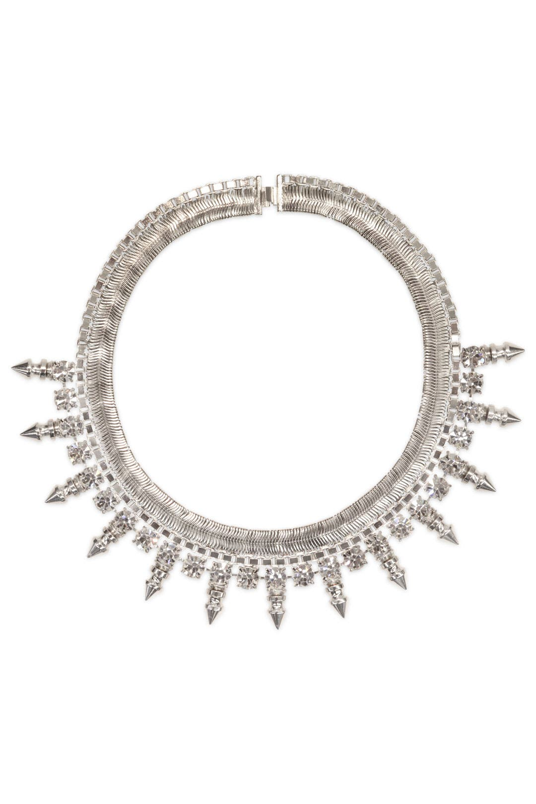 Snowburst Crystal Necklace by Courtney Lee