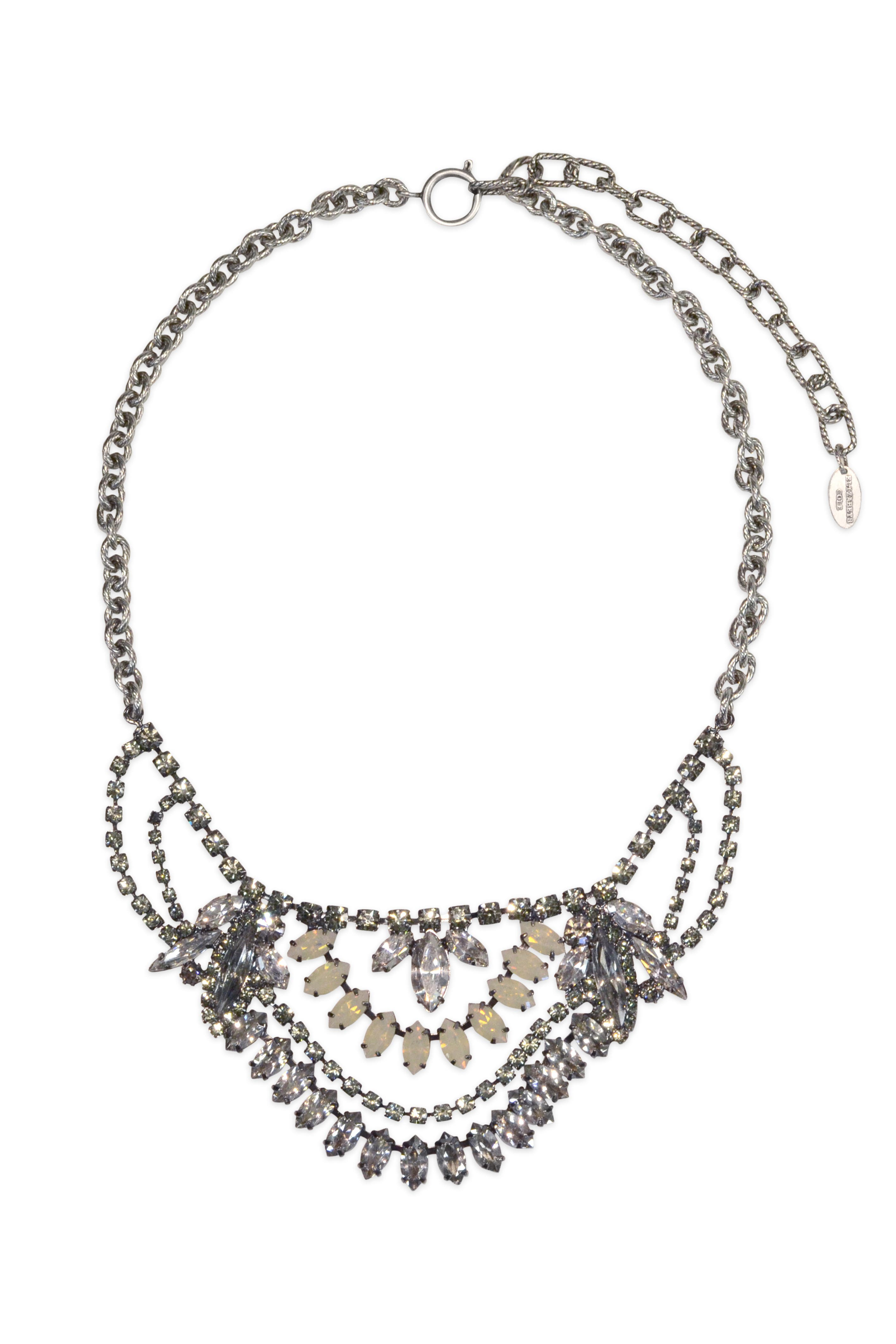 Crystal Nouveau Necklace by Elizabeth Cole
