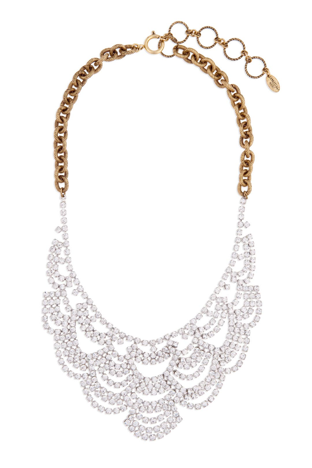 Laced with Crystal Necklace by Elizabeth Cole