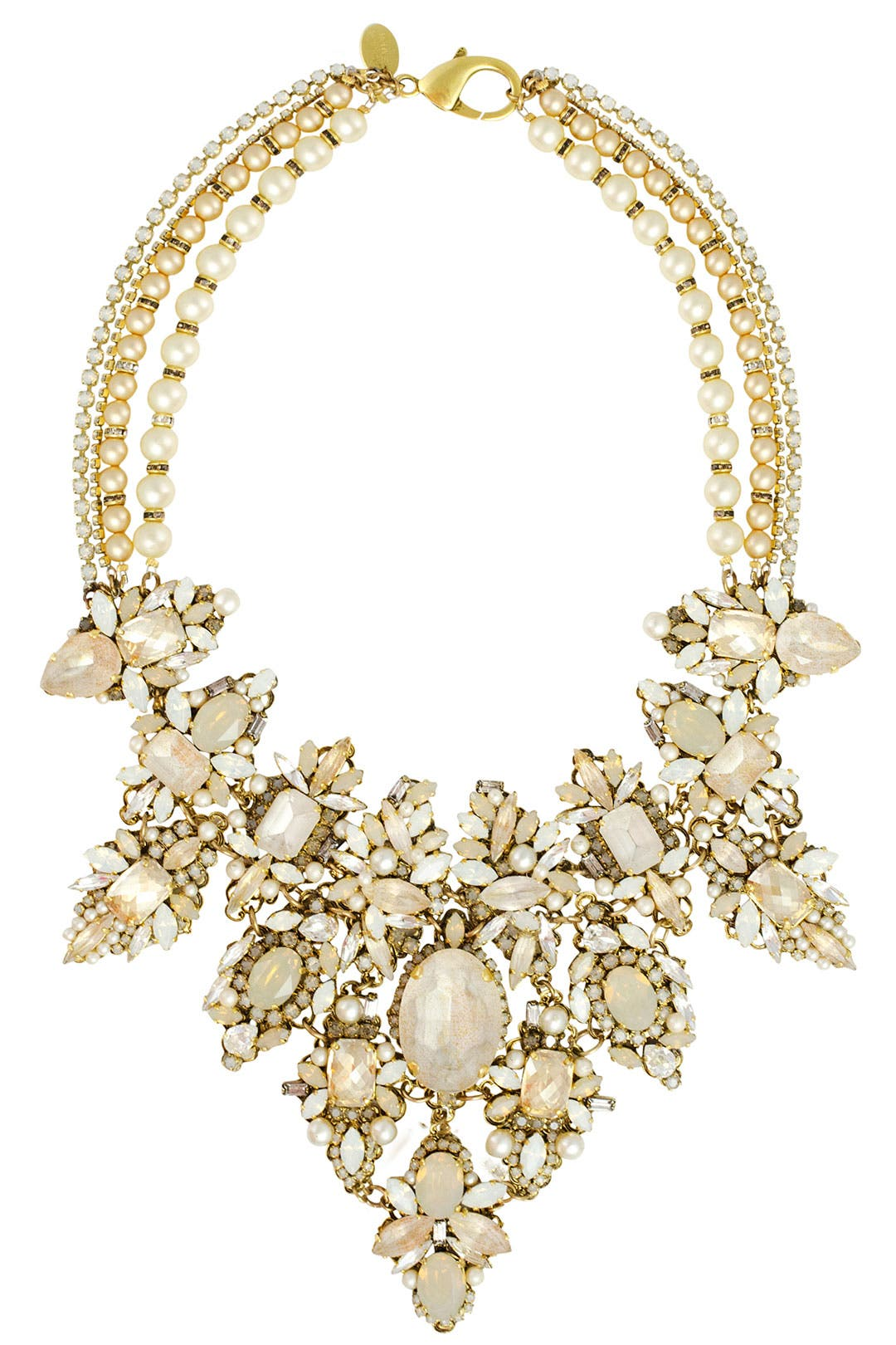 Girlie Queen Necklace by Erickson Beamon
