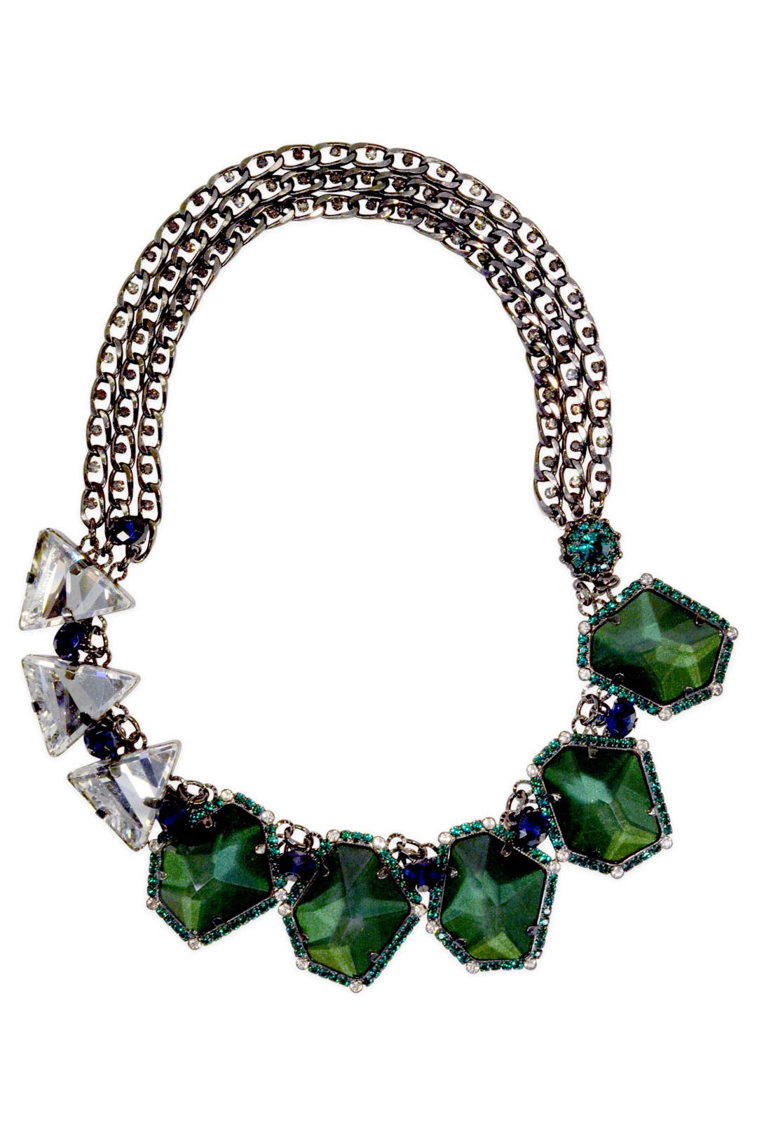 Bejeweled Envy Necklace by Erickson Beamon