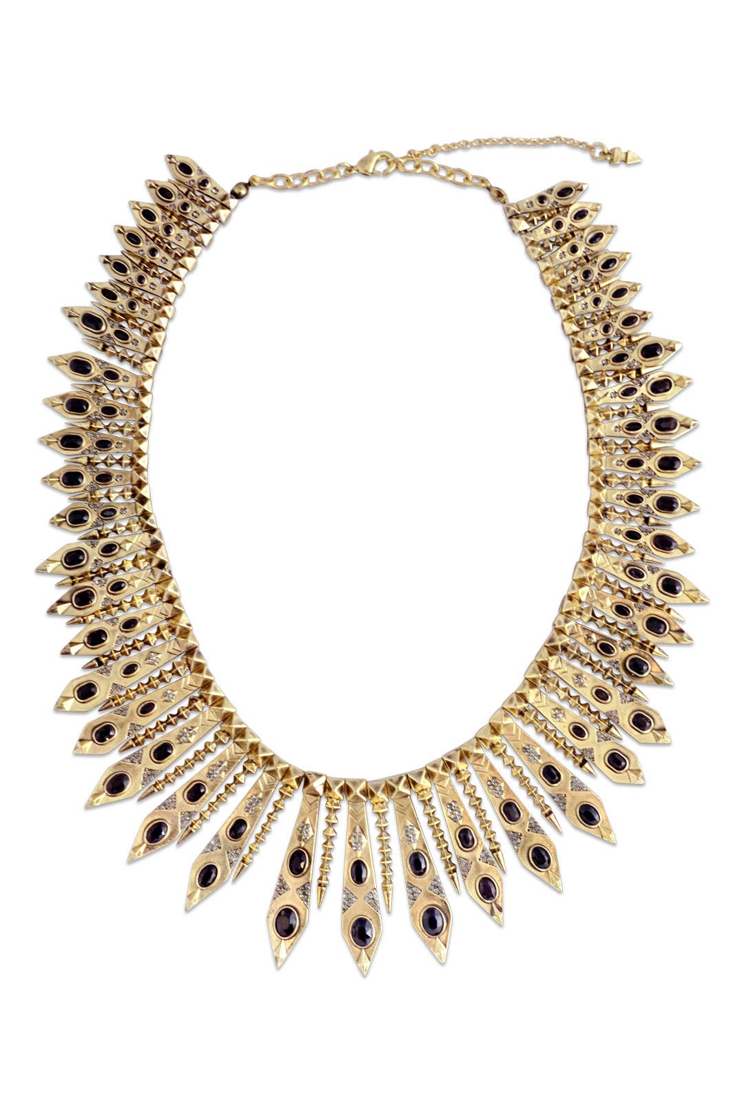 Gypsy Feather Necklace by House of Harlow 1960