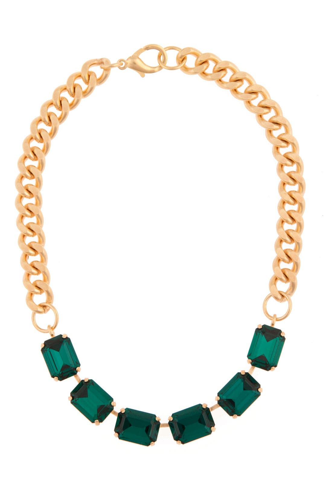 Envious Emerald Necklace by Janis Savitt