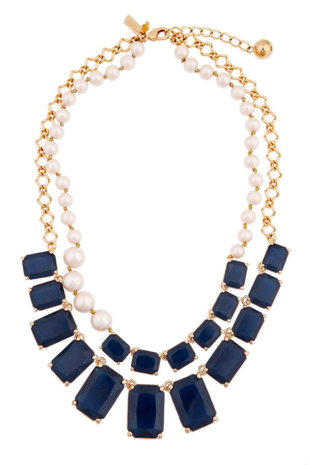 Sapphire Treasure Chest Necklace by kate spade new york accessories