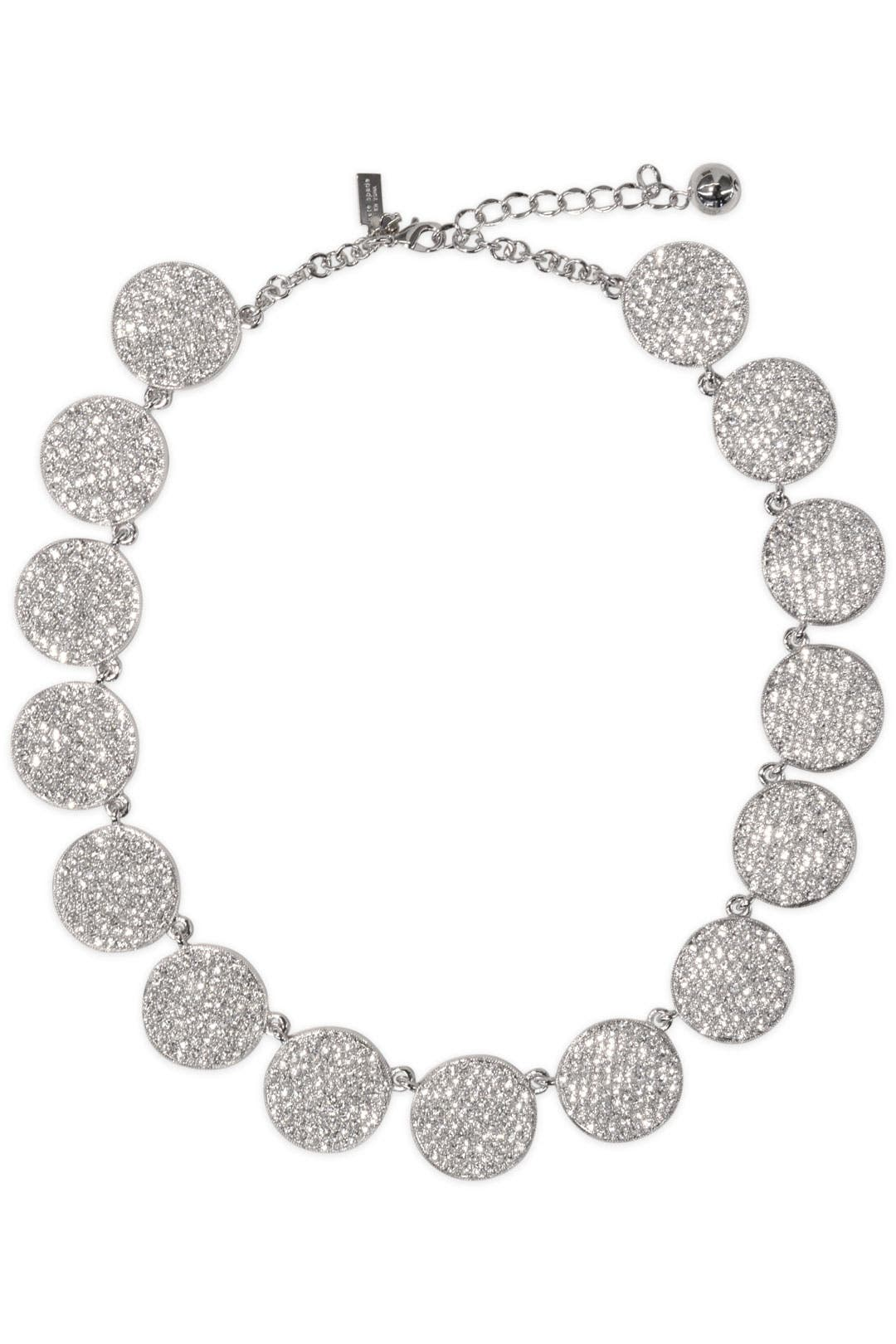 Silver Bright Spot Necklace by kate spade new york accessories