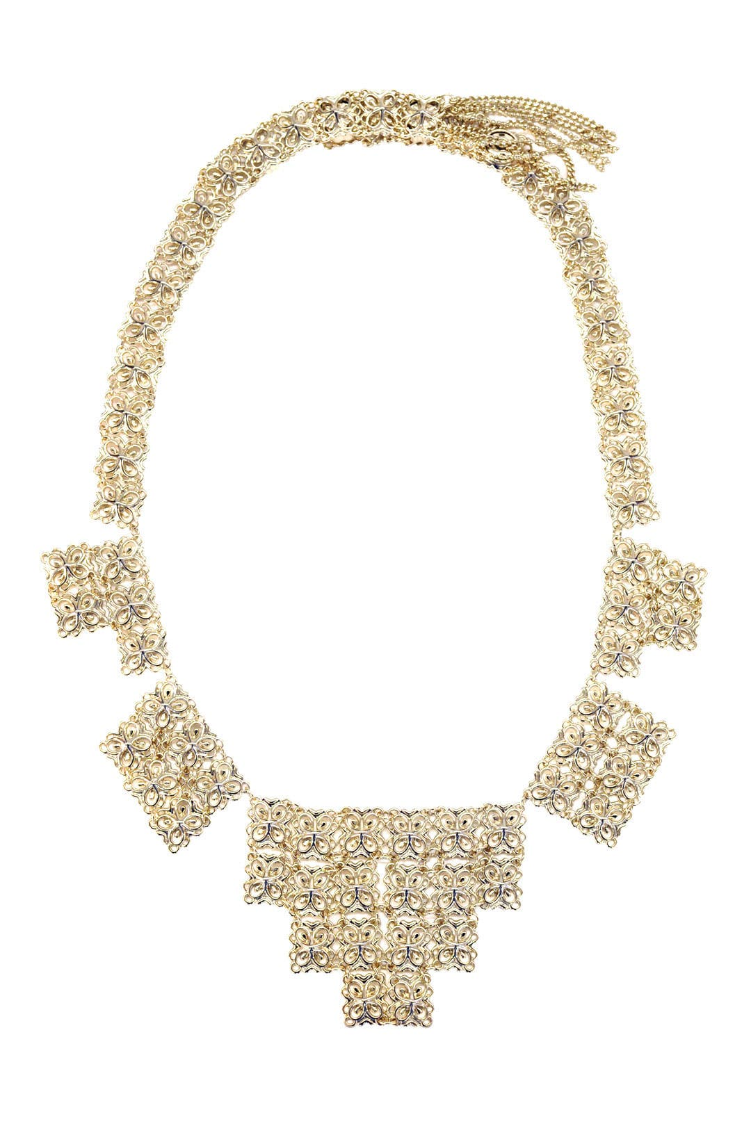 Byzantine Motif Necklace by Kendra Scott