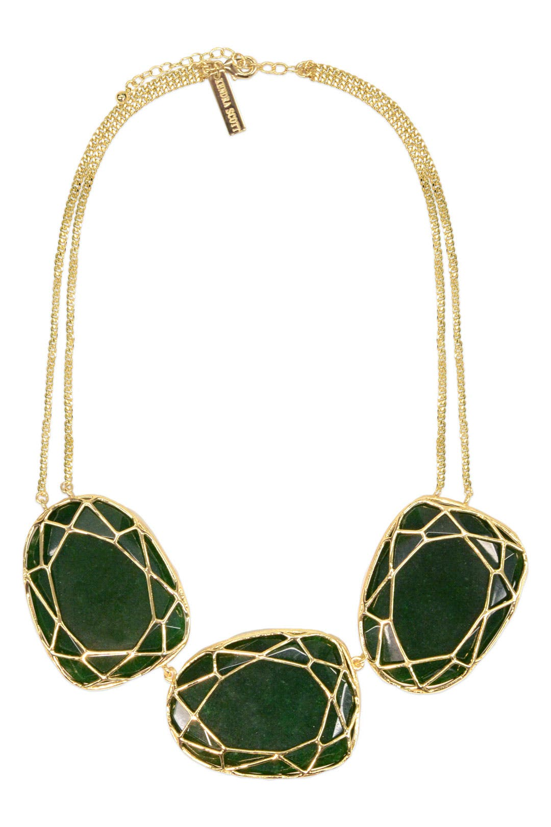Forest Jade Marcella Necklace by Kendra Scott