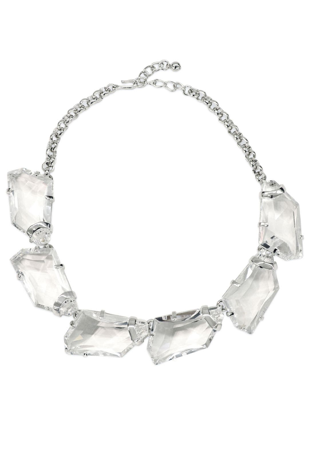 Clarion Crystal Necklace by Kenneth Jay Lane