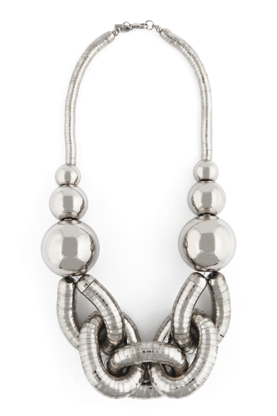 Silver Chain Necklace by Kenneth Jay Lane