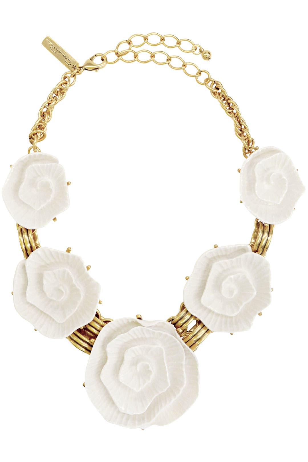 Blanca Rose Necklace by Oscar de la Renta