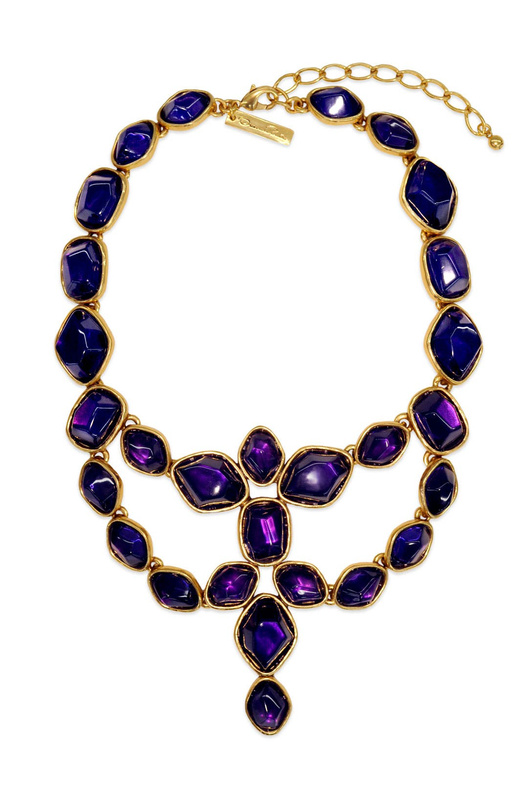 Deep Amethyst Statement Necklace by Oscar de la Renta