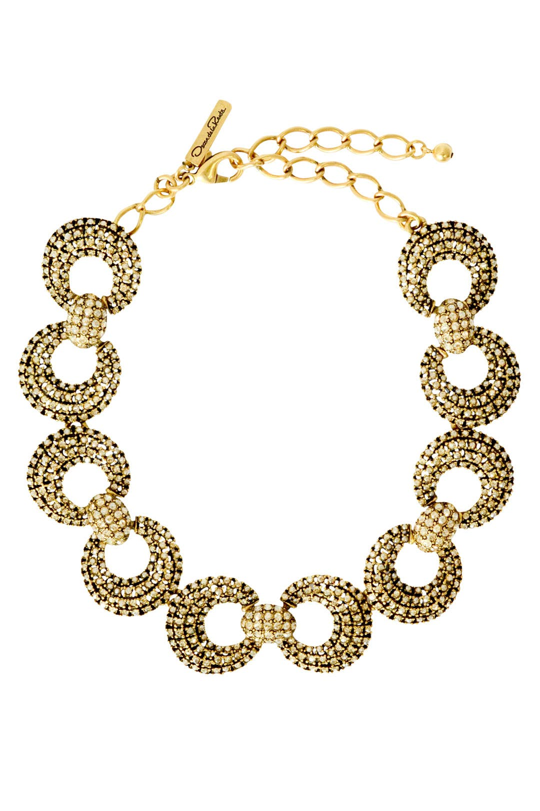 Lock and Key Necklace by Oscar de la Renta