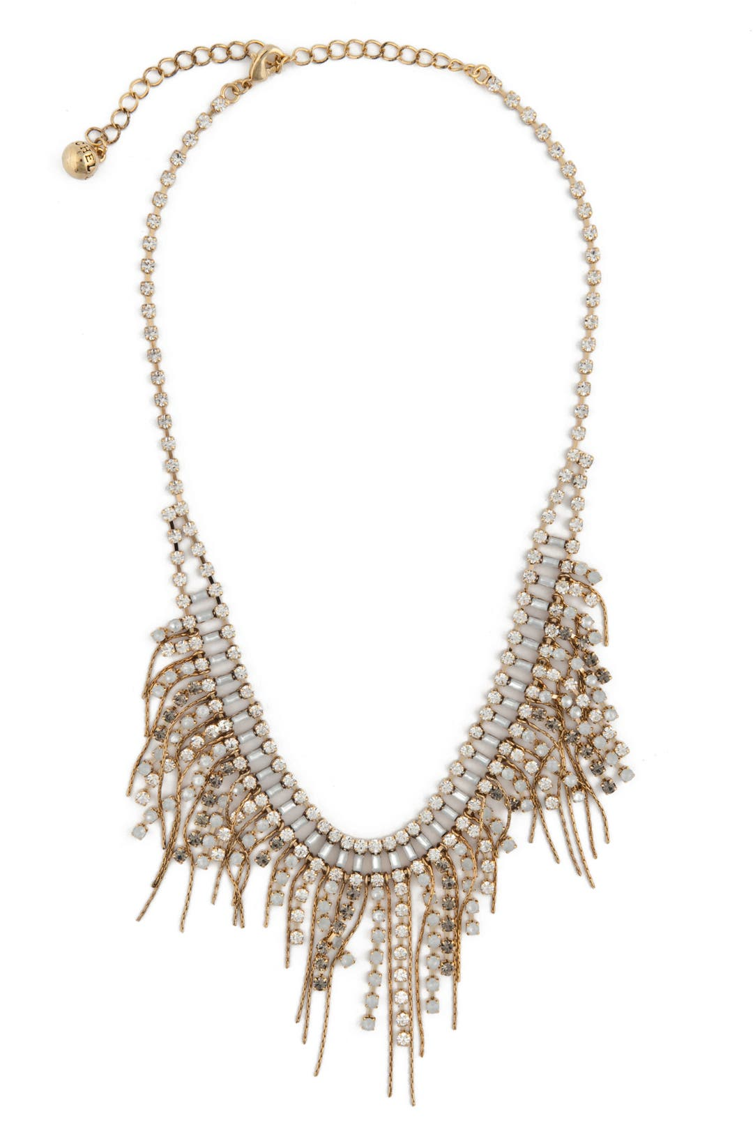 Crystal Fringe Necklace by Rachel Leigh