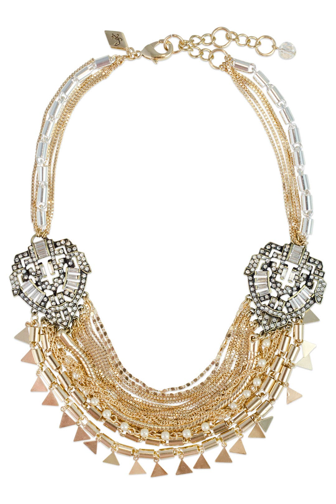 Mayan Multi Chain Necklace by Sequin