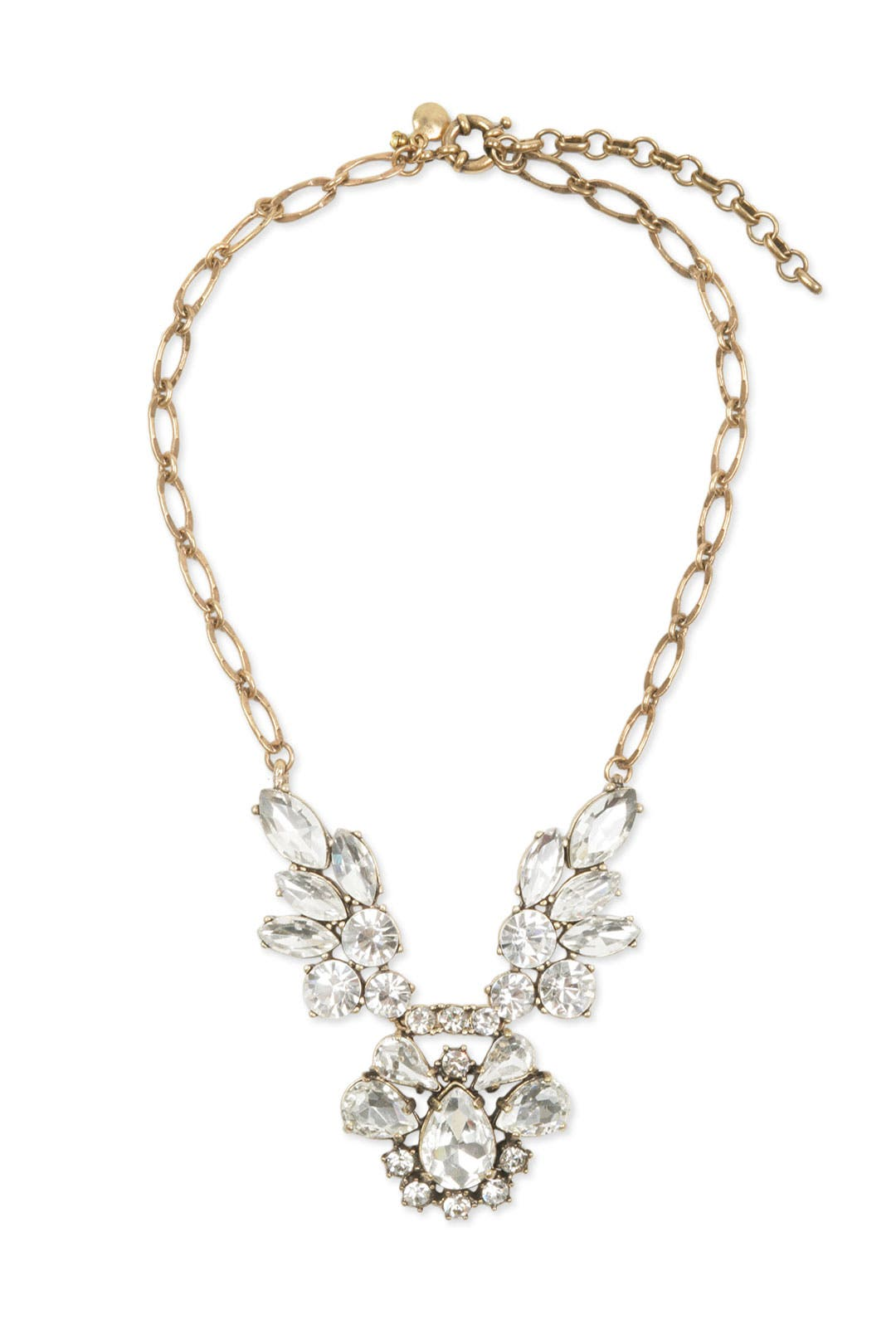 Crystal Falls Cluster Necklace by Slate & Willow Accessories