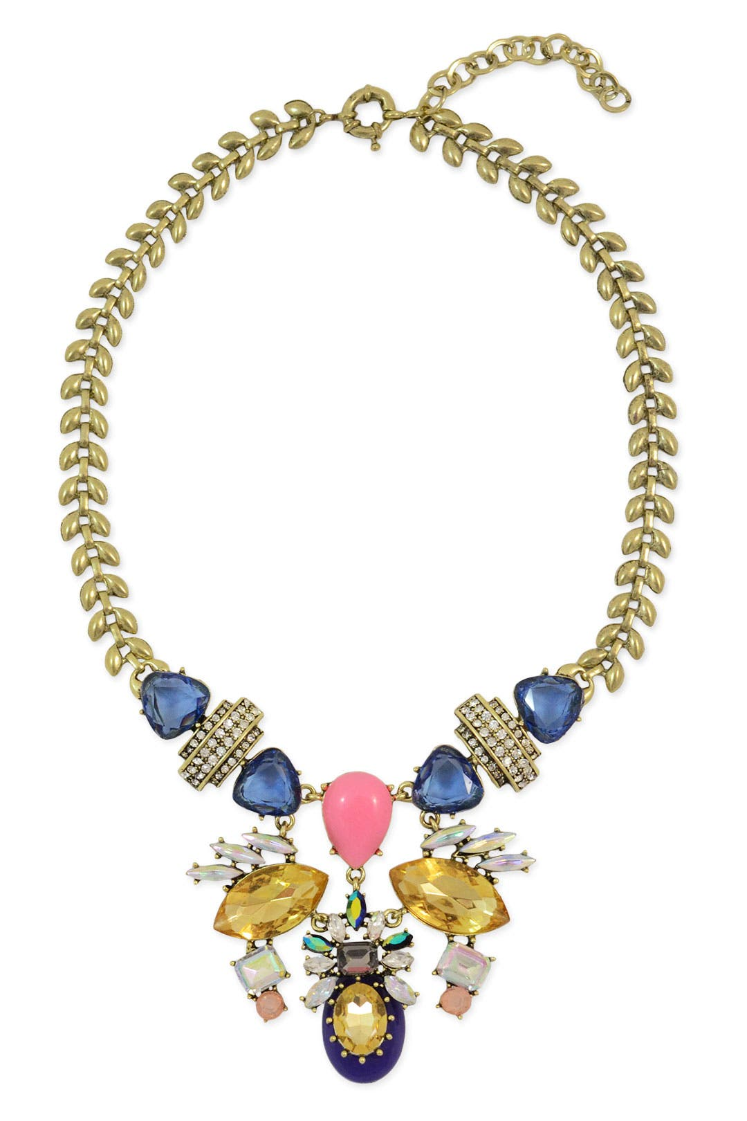 Flying Colors Statement Necklace by Slate & Willow Accessories