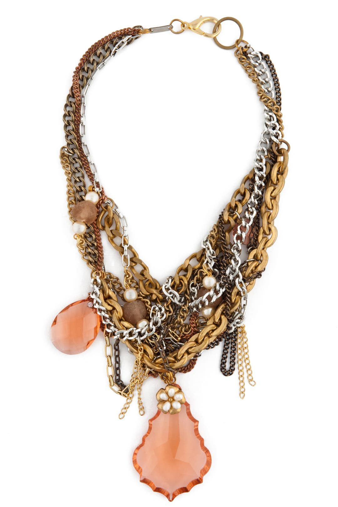 Pink Sunken Treasure Necklace by Subversive