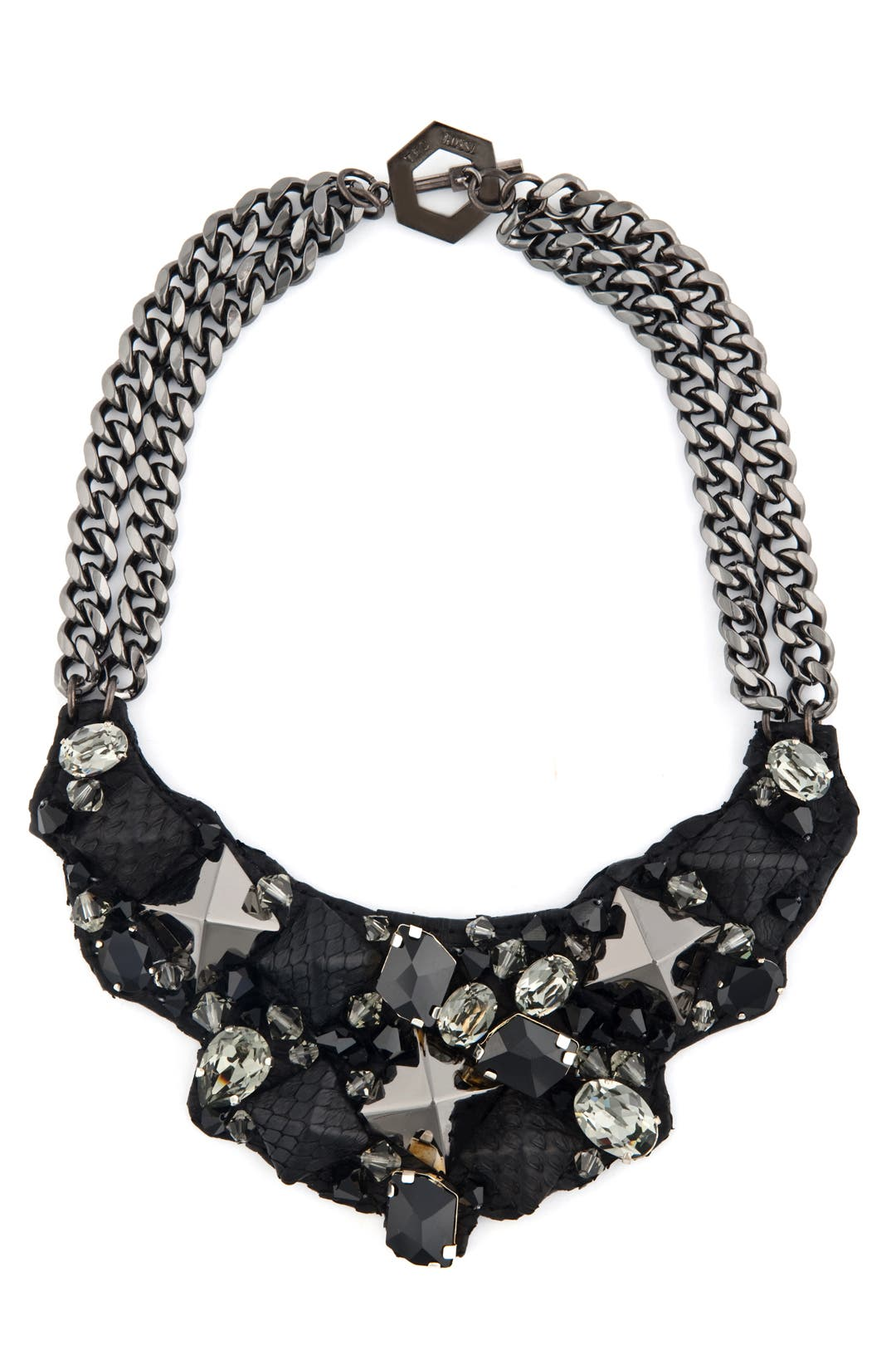 Cosmic Python Bling Bib by Ted Rossi