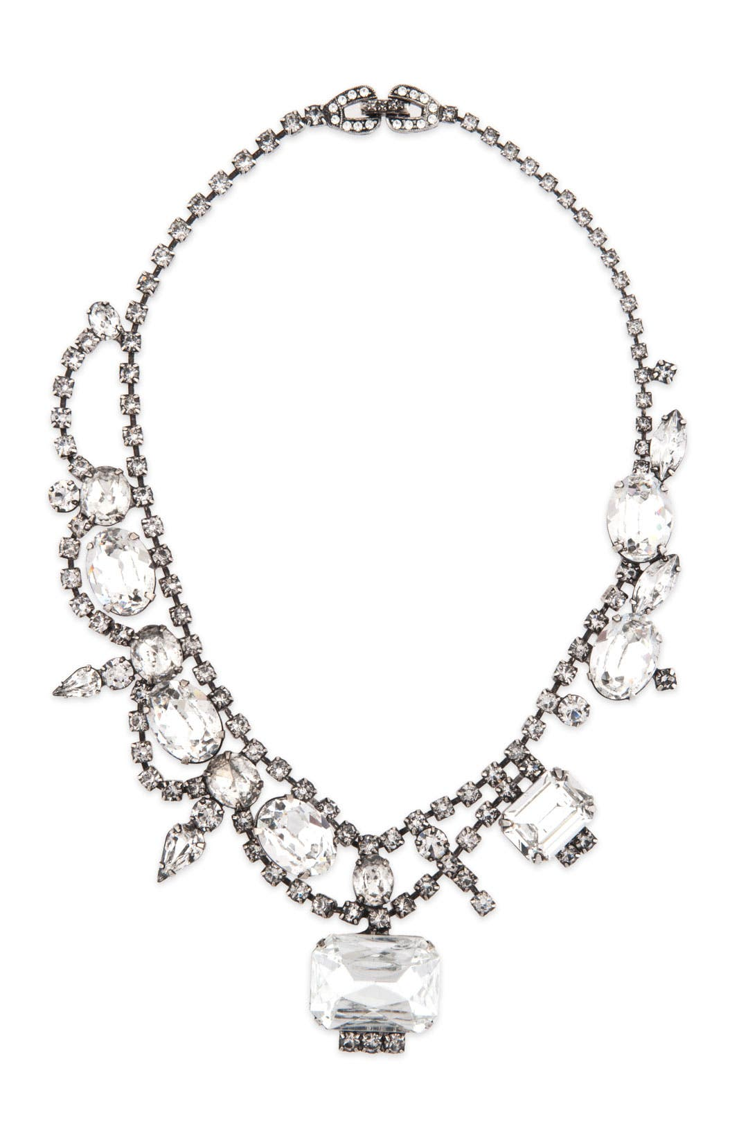Crystal Ellis Glamour Necklace by Tom Binns