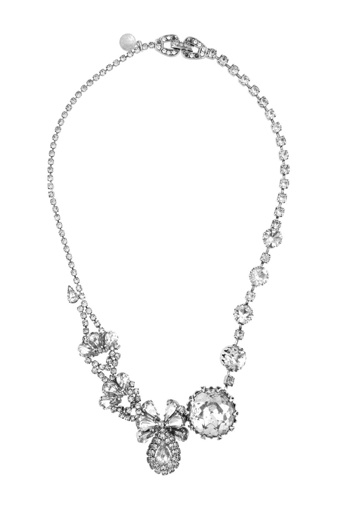 White Anna Necklace by Tom Binns