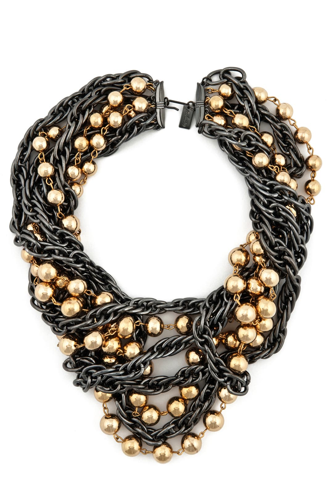 Layered Ball and Chain Necklace by Tuleste Market