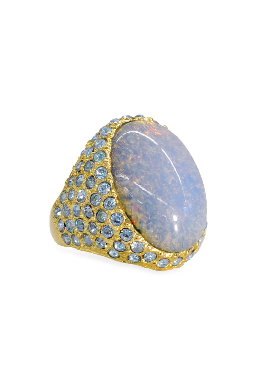 Opal Destiny Ring by Kenneth Jay Lane