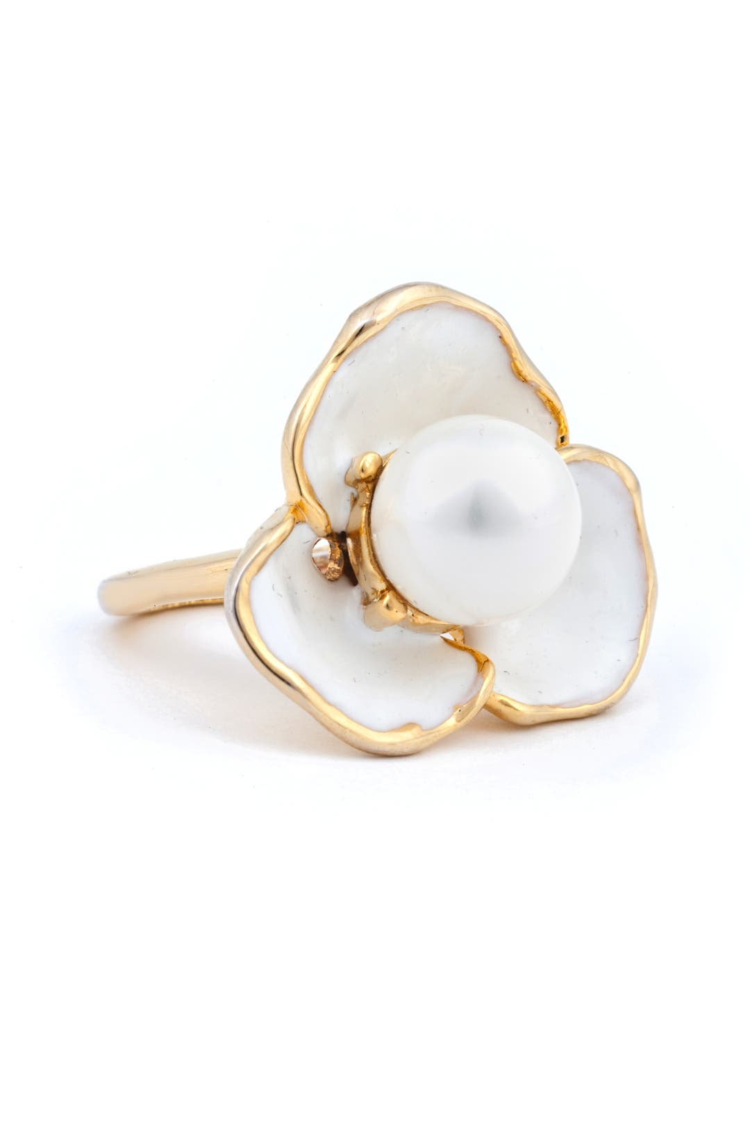 Pure Flower Power Ring by Kenneth Jay Lane