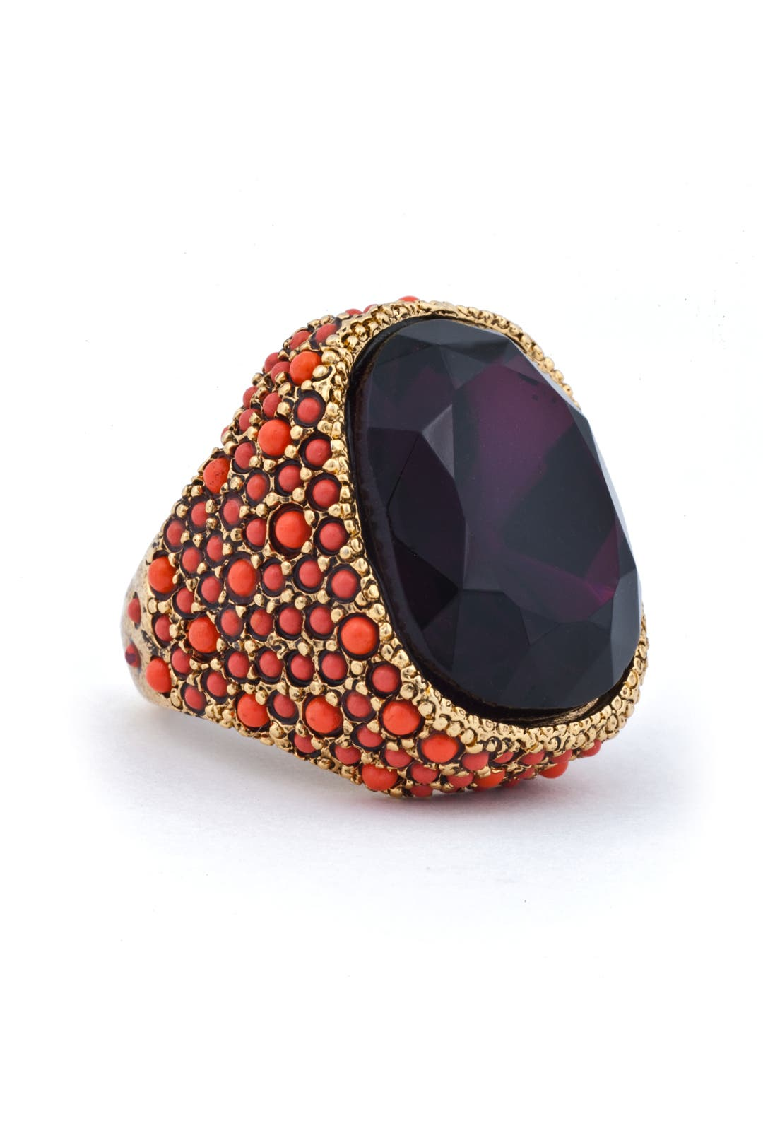 Purple Princess Ring by Kenneth Jay Lane