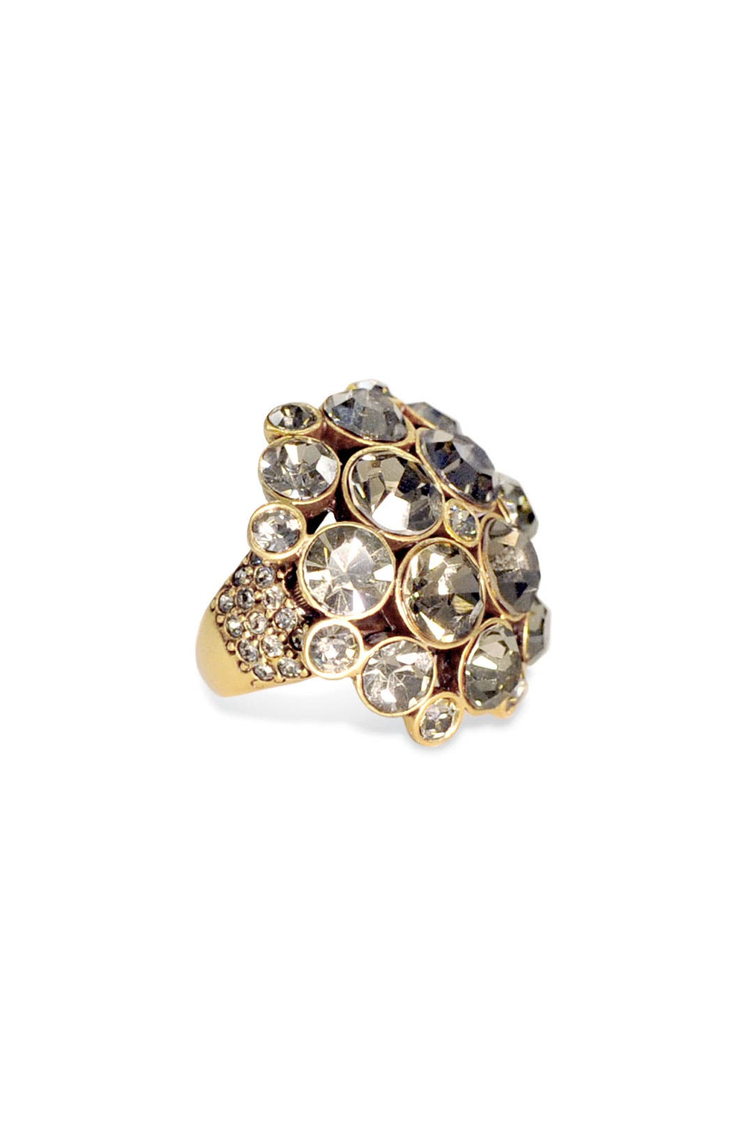 Pave Bouquet Ring by Oscar de la Renta