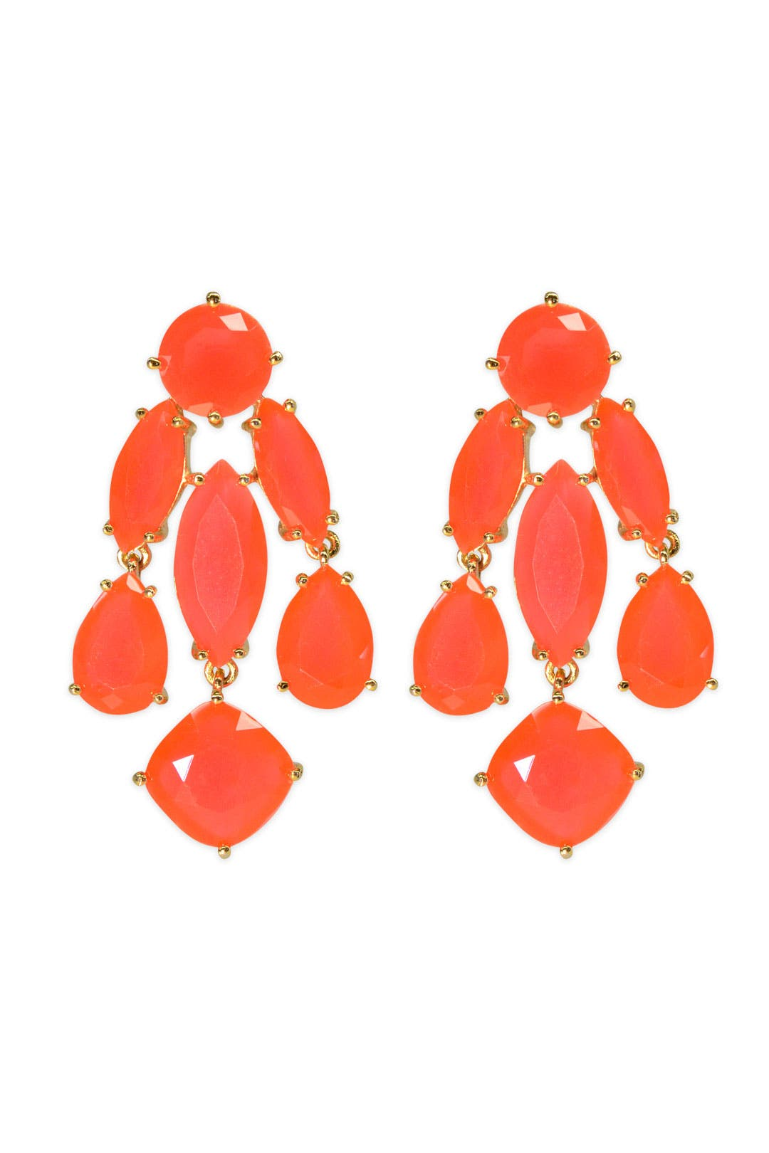 Coral Statement Earrings by kate spade new york accessories