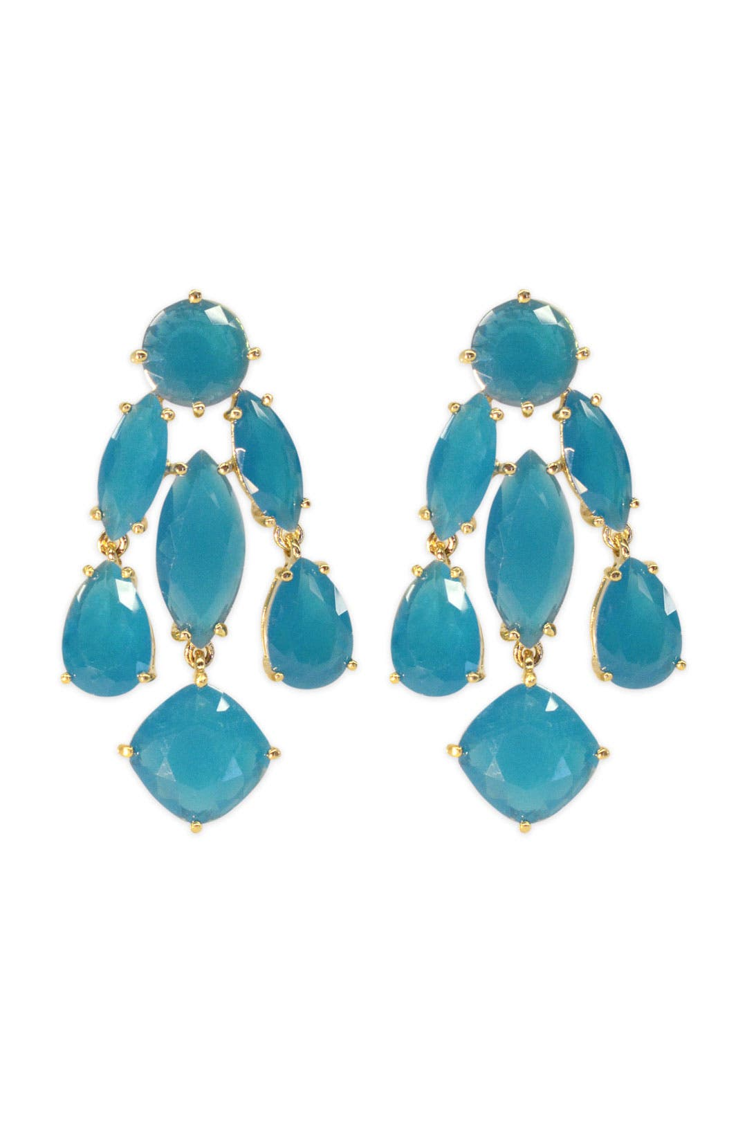Turquoise Statement Earrings by kate spade new york accessories