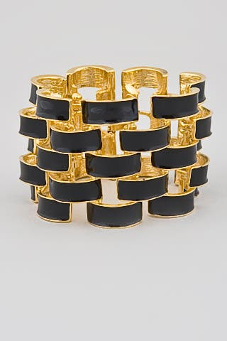The New Enamel Bracelet by Kenneth Jay Lane