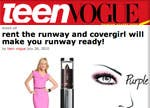 teen vogue, cover girl, Pat McGrath, Smoky ShadowBlast
