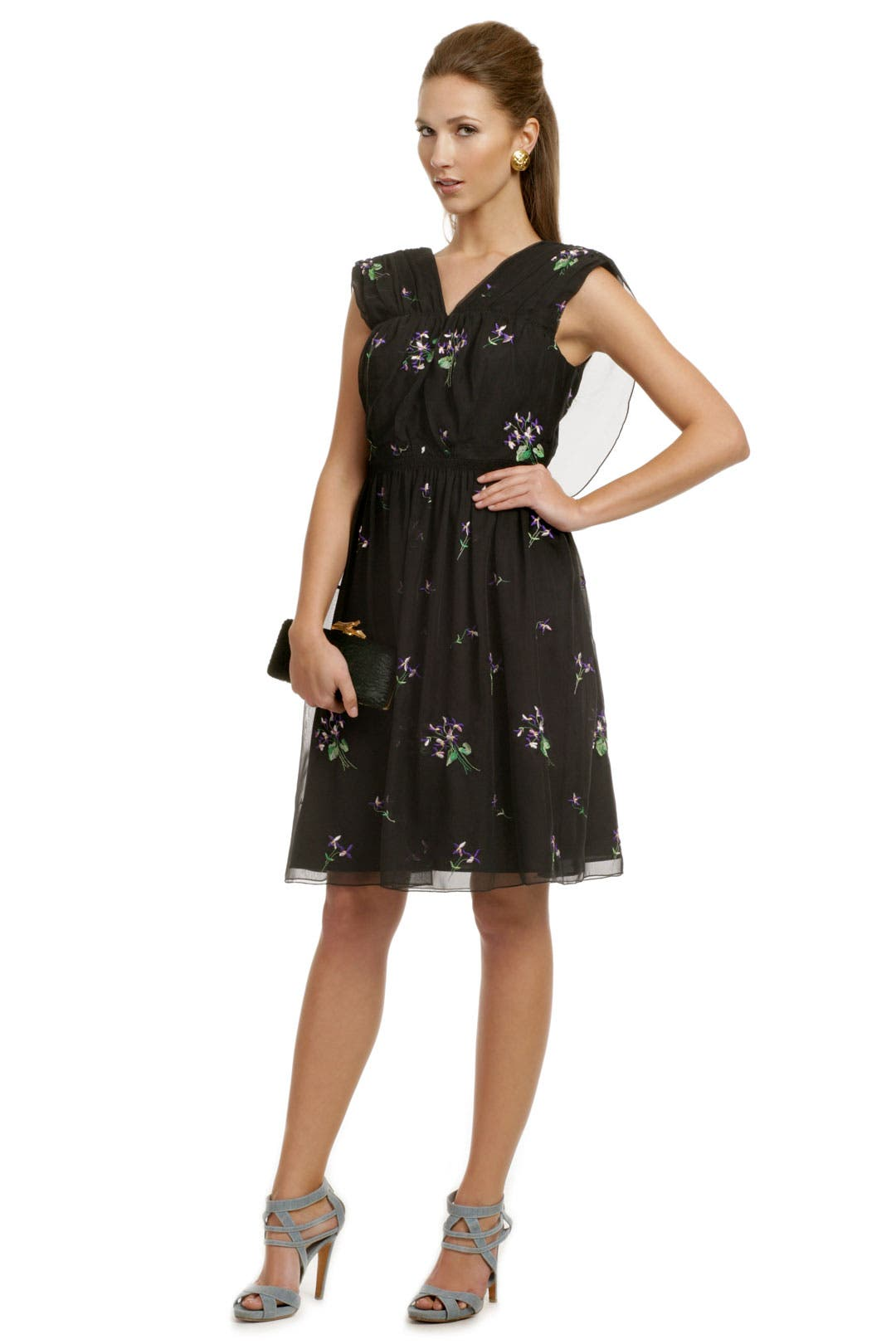 Lilac Gardens Dress by Anna Sui