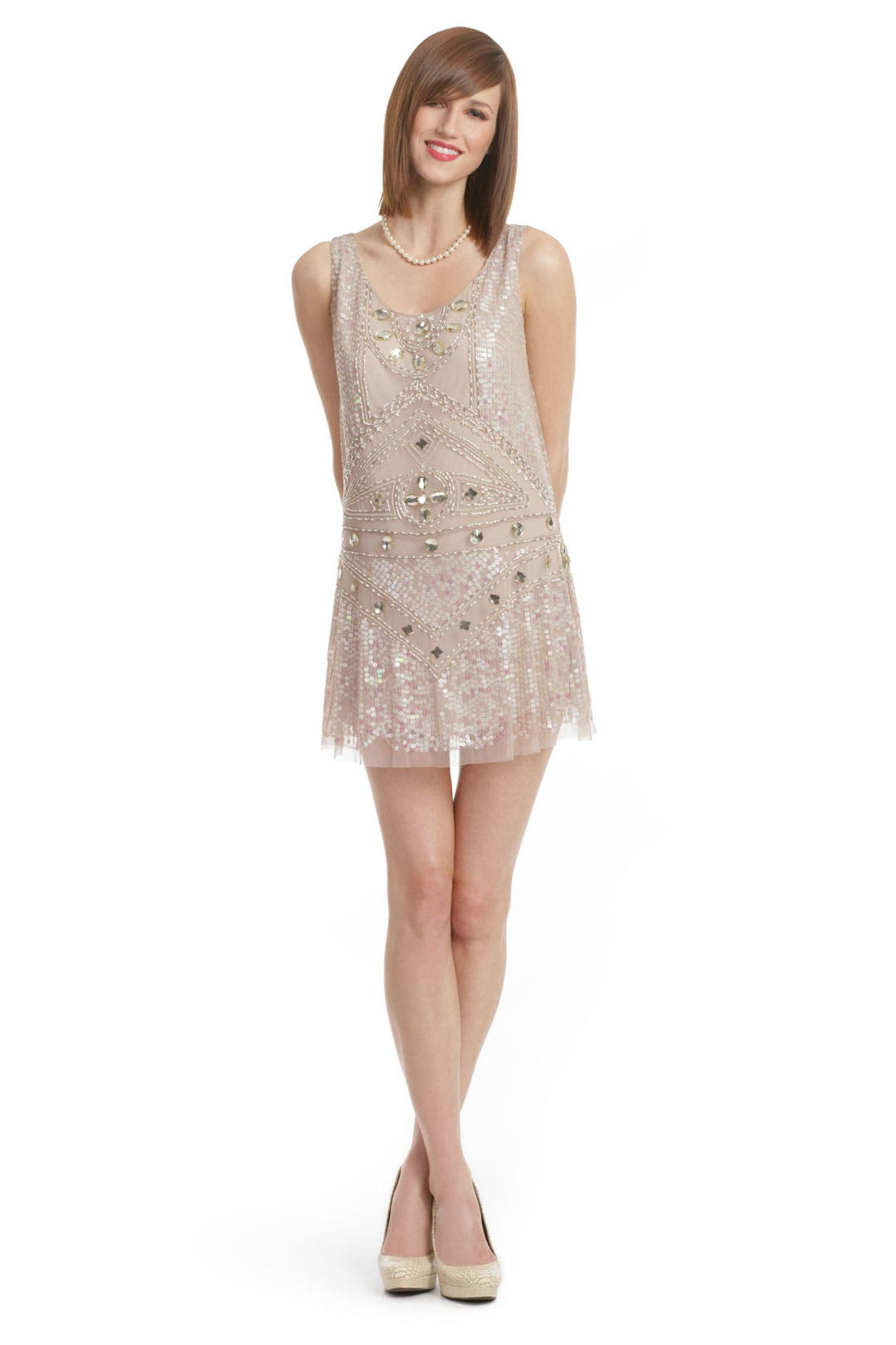 Nouveau Shift Dress by Anna Sui
