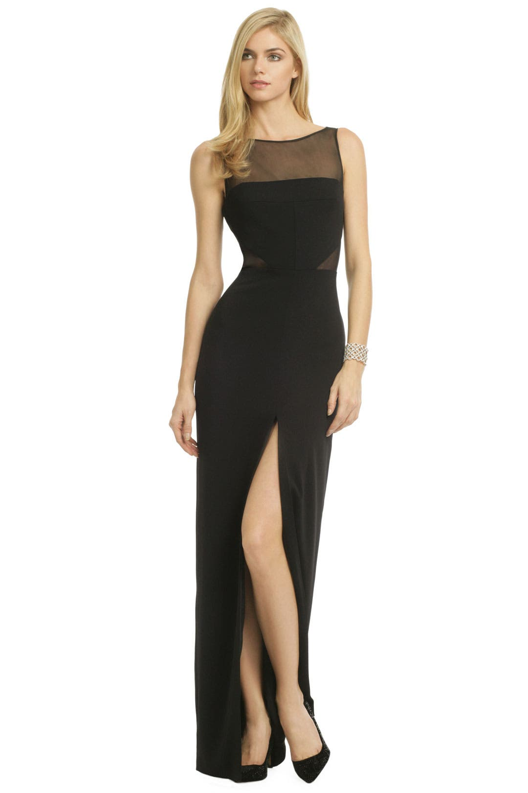 Dare To Be Bare Gown by Badgley Mischka